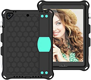 XIAYAN Tablet Covers for iPad Pro 9.7 case,for New iPad 2018/2017 case,for iPad Air1 Air2 case Shockproof Tablet EVA Cover with Shoulder Strap and Hand Strap,for Kids Protective Cover Case Skin