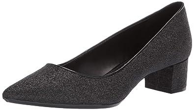 e3016c9351 Calvin Klein Women's Genoveva Pump, Black Dusty Glitter, ...