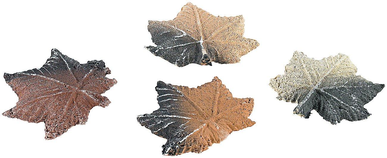 Carlo Milano Keramikholz Keramik-Feuerdekoration Ahornbl/ätter f/ür Bio-Ethanol-/Öfen Keramikholz direkt ins Feuer
