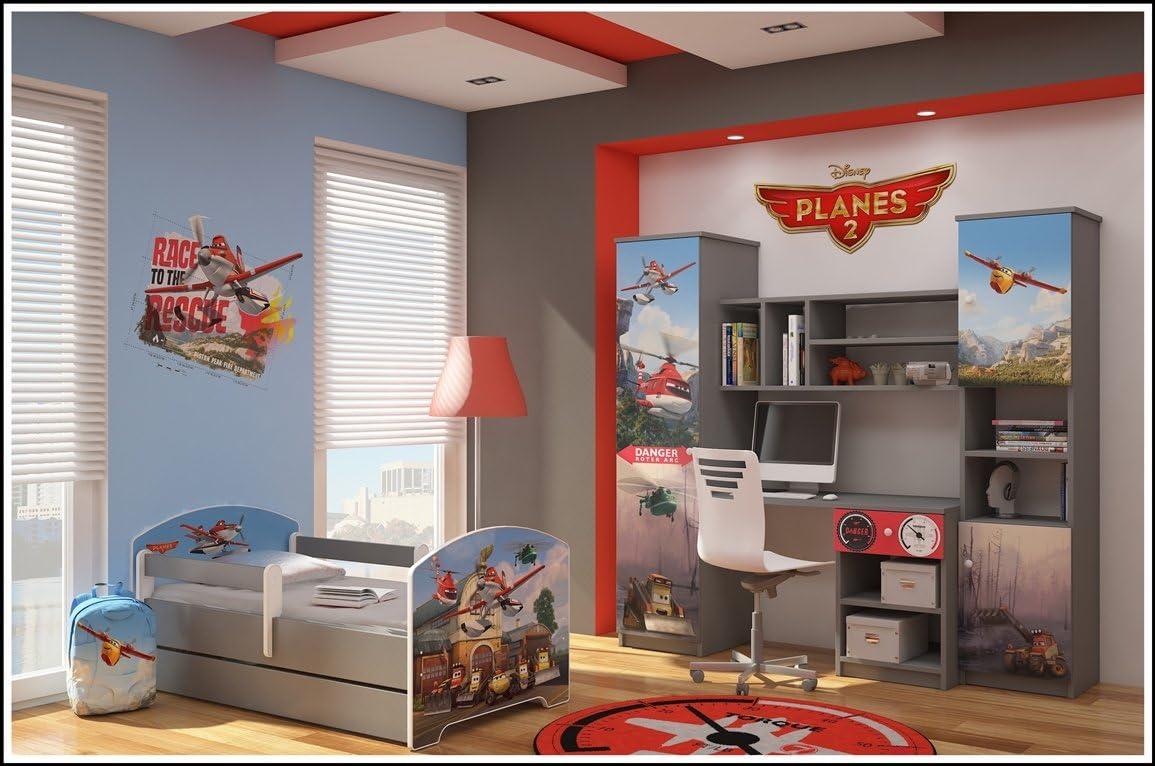 Original Disneys Kinderbett mit Rausfallschutz und Matratze