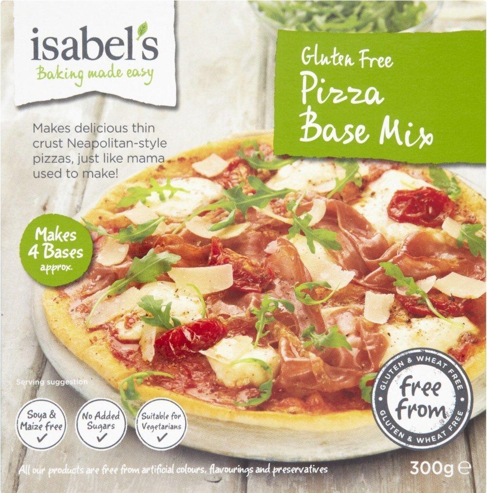 Isabels Pizza Sin Gluten 300g Base De Mezcla De Isabel ...