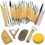 Cozyswan Ceramiche di alta qualità Attrezzi Sculpting Tool (30Pcs)