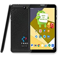 IKALL N4 (1GB+16GB) 7 Inch Android 6.0 (4G Volte+Wi-Fi) Calling Tablet,Black