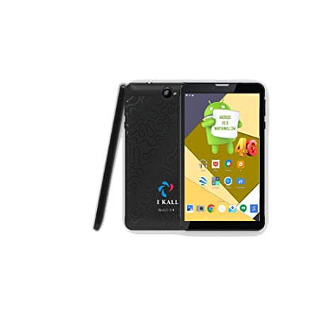 IKALL N4 (1GB+16GB) 7 Inch Android 6.0 (4G Volte+Wi-Fi) Calling Tablet,Black Tablets at amazon