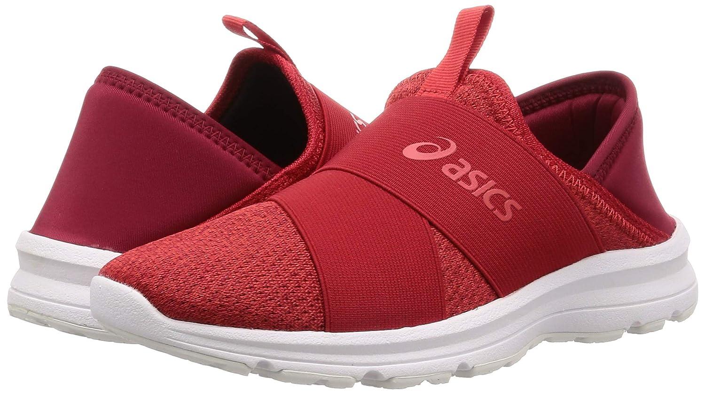 ASICS Men's Red Sneakers-5 UK (39 EU