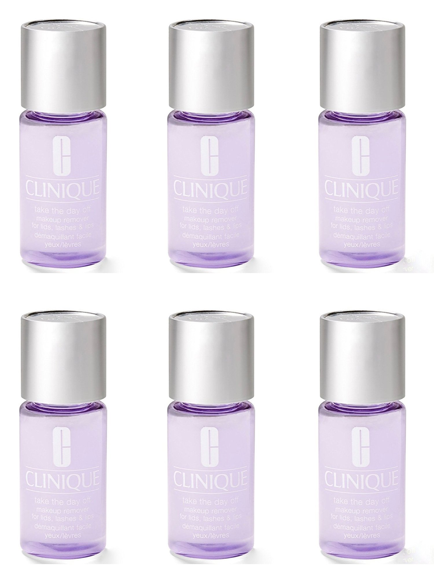 6 x Clinique Take The Day Off Makeup Remover 1oz / 30ml, Totals 6oz
