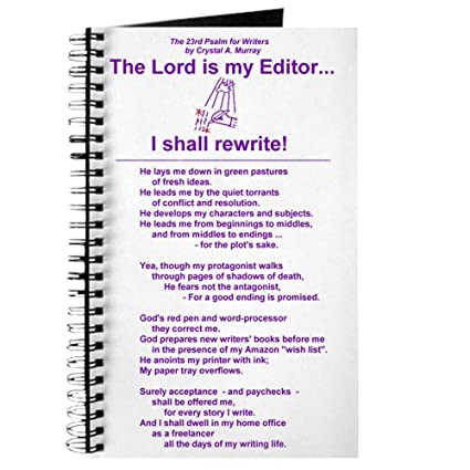amazon com cafepress a writer s psalm on a writer s spiral