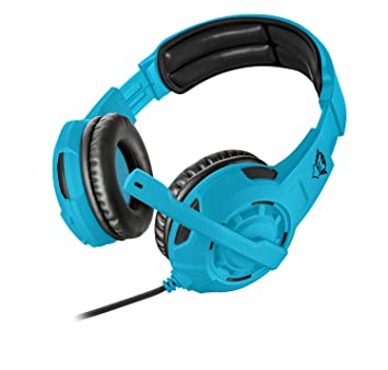 Trust Gaming GXT 310-SB Spectra - Auriculares Gaming Multi-Plataforma, Azul