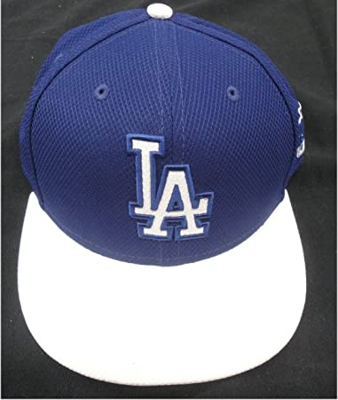 Kenley Jansen 74 La Dodgers Game Used Issued Baseball Cap Hat