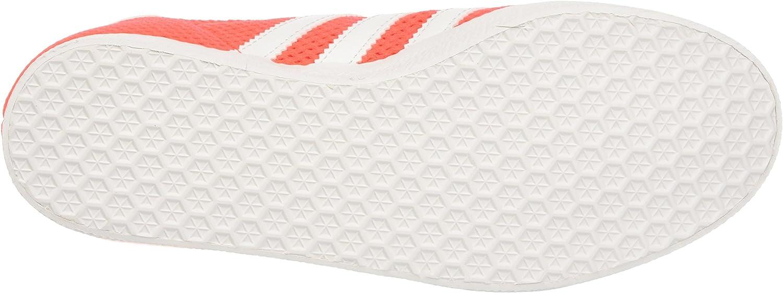 adidas Herren Gazelle Sneaker, grau, 37 1/3 EU Orange Solar Red Footwear White Solar Red