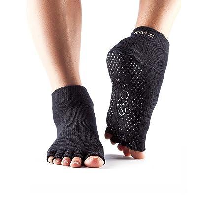 Toesox Cheville sans orteils Chaussettes de yoga
