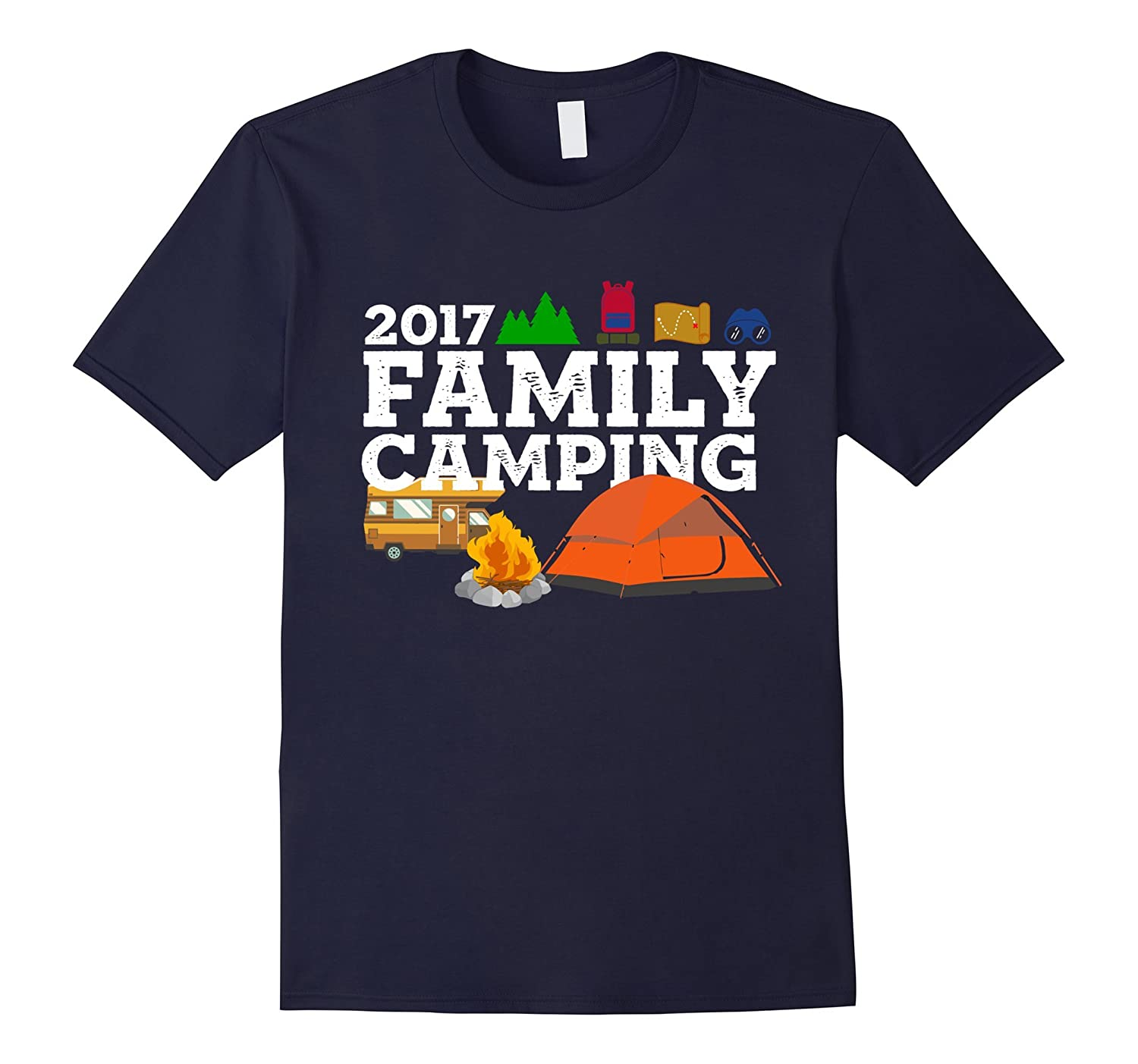 2017 Family Camping Vacation T-Shirt-TH