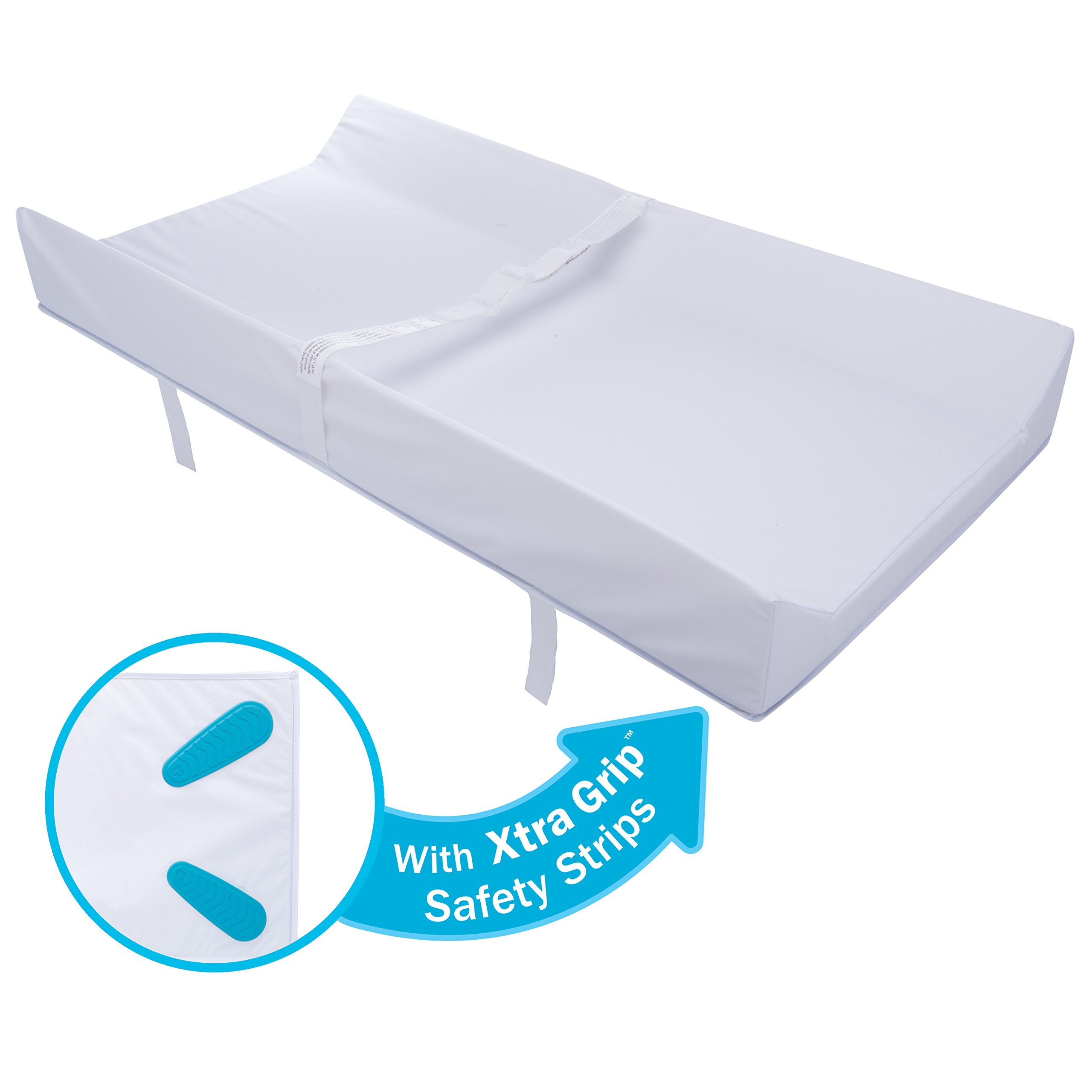 Munchkin Secure Grip Waterproof Diaper Changing Pad, 16'' x 31'' by Munchkin