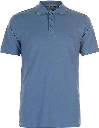 Pierre Cardin - Polo, camiseta, liso, hombre