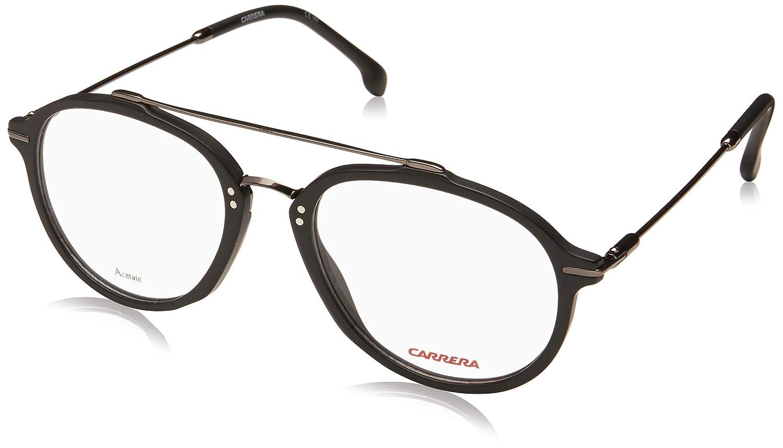9115adc1ec5a Carrera 174 003 5219 Full Rim Aviator Spectacle Frame (Matt Black):  Amazon.in: Clothing & Accessories