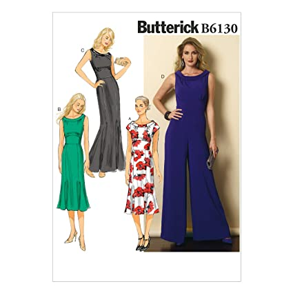 Amazon Butterick Patterns B40 Misses' Dress And Jumpsuit Extraordinary Butterick Patterns