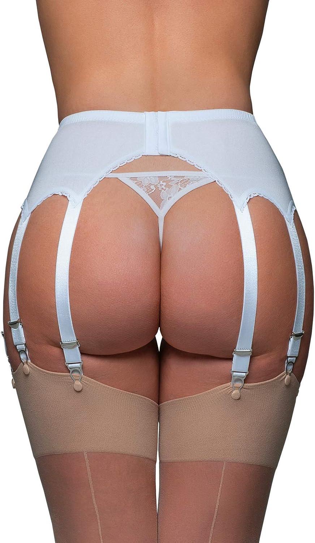 Nylon Dreams NDL70 Womens Garter Belt 14 Strap Suspender Belt