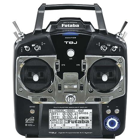 futaba 8ja 8-channel 2 4ghz s-fhss air radio transmitter mode 2 with