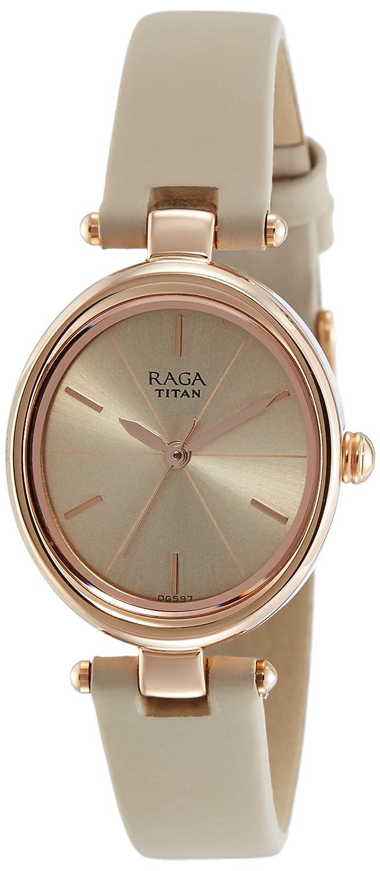 Titan Raga Viva Analog Rose Gold Dial Women S Watch 2579wl01