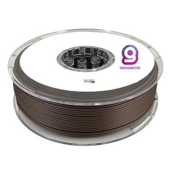 MadridGadgetStore® Filamento PLA 1.75 mm 1.75mm Madera Nogal ...