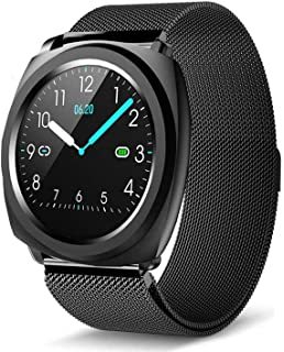 Amazon.com: H2 Smart Watch Blood Pressure Heart Rate Monitor ...