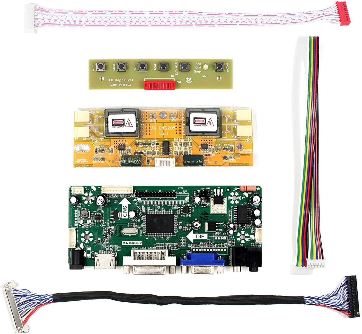 Panel LCD de 17 19 1280x1024 4CC para HSD190MEN4 M170EN06