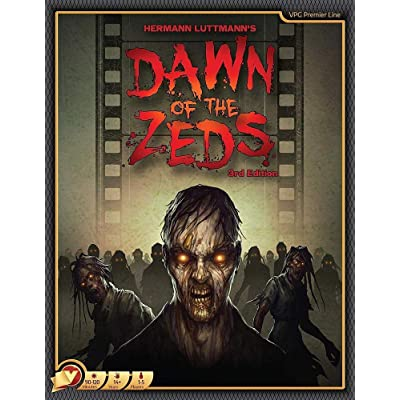 Victory Point Games Dawn of The Zeds 3rd Edition Board Game: Toys & Games