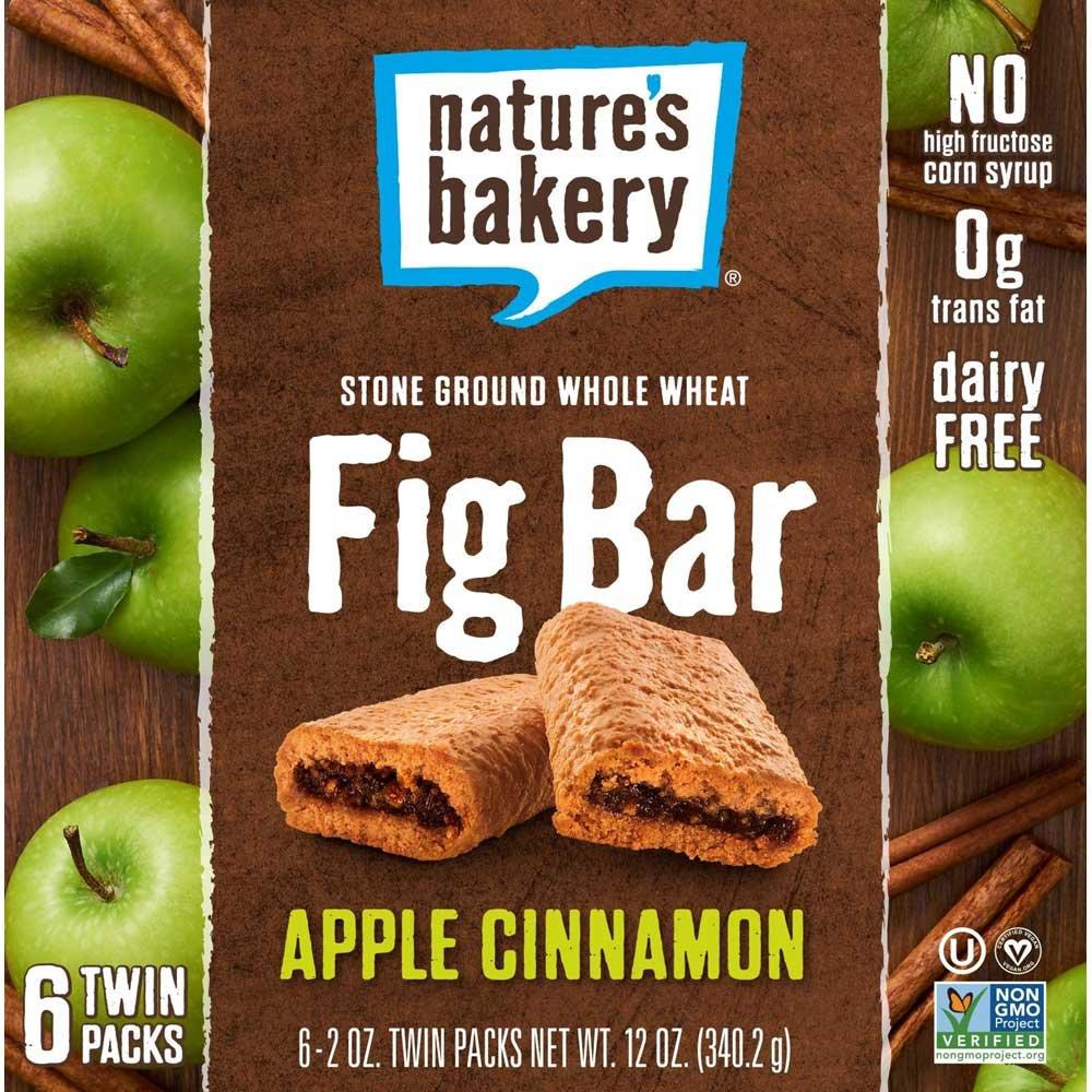 Natures Bakery Apple Cinnamon Fig Bar, 2 Ounce -- 36 per case.
