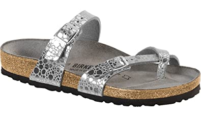 8c1a22274b5 Birkenstock Mayari BF Metallic Stones Silver Gray  Amazon.co.uk  Shoes    Bags