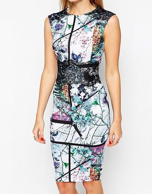 Vestidos de Fiesta de Noche Elegantes De Mujer Casuales Cortos Pegados Al Cuerpo VE0023 at Amazon Womens Clothing store:
