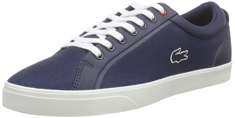 Lacoste Lenglen 216 1, Zapatillas para Hombre Color Azul Talla 44 EU 731SPM0113