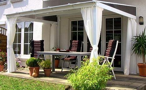 Dreams4Home Lome II - Pérgola para terraza (360 x 300 cm ...