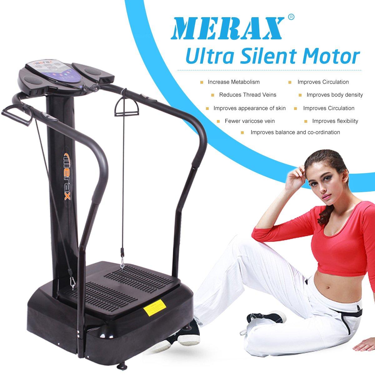 Amazon.com: merax 2000 W Cuerpo Entero Crazy Fit Plataforma ...