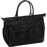 Colette Hayman - Black Quilted Baby Bag