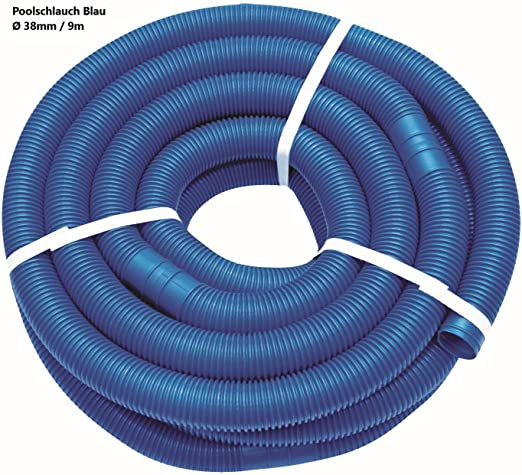 well2wellness - Manguera para Piscina (38 mm, 9 m), Color Azul ...