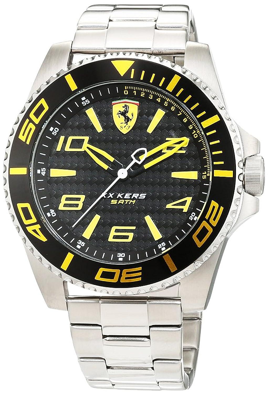 Scuderia Ferrari Orologi Herren-Armbanduhr XX Kers Analog Quarz Edelstahl 0830330