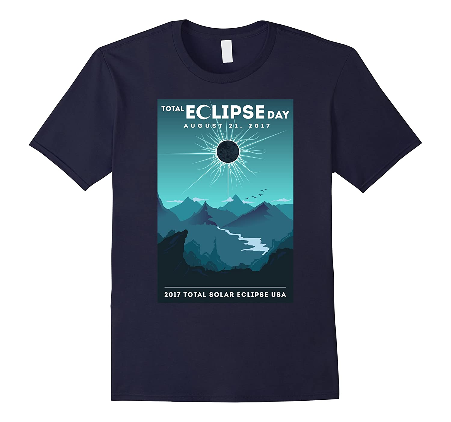 Total Solar Eclipse 2017 T Shirt | Total Eclipse Day Tee-BN