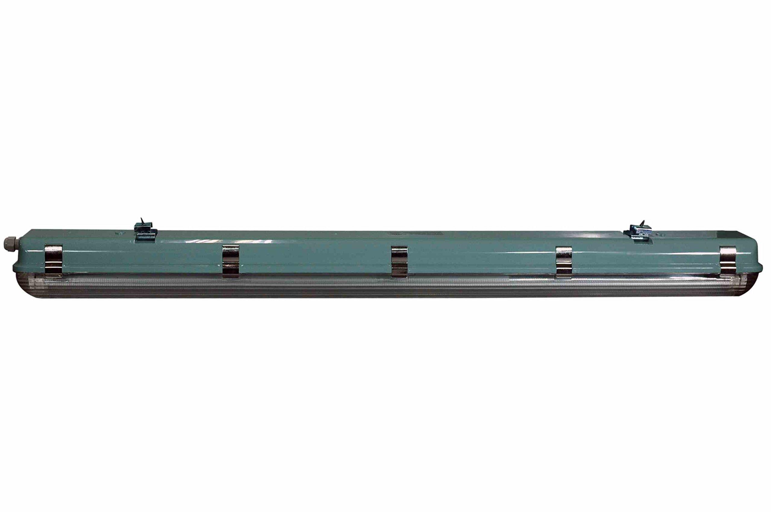56 Watt Vapor Proof LED 4 Foot Light for Outdoor Applications - 7000 Lumens - 6' Cord - IP67 by Larson Electronics (Image #3)