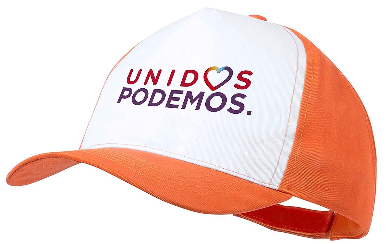 MERCHANDMANIA Gorra Logo Partido Unidos Podemos Color Cap