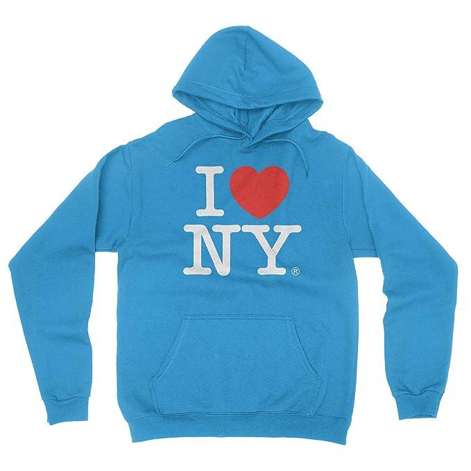 I Love Ny de Nueva York sudadera con capucha de impresión corazón sudadera Turquesa: Amazon.es: Ropa y accesorios