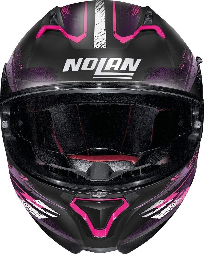 Nolan Casque N87 Carnival N-COM Flat Black XXS