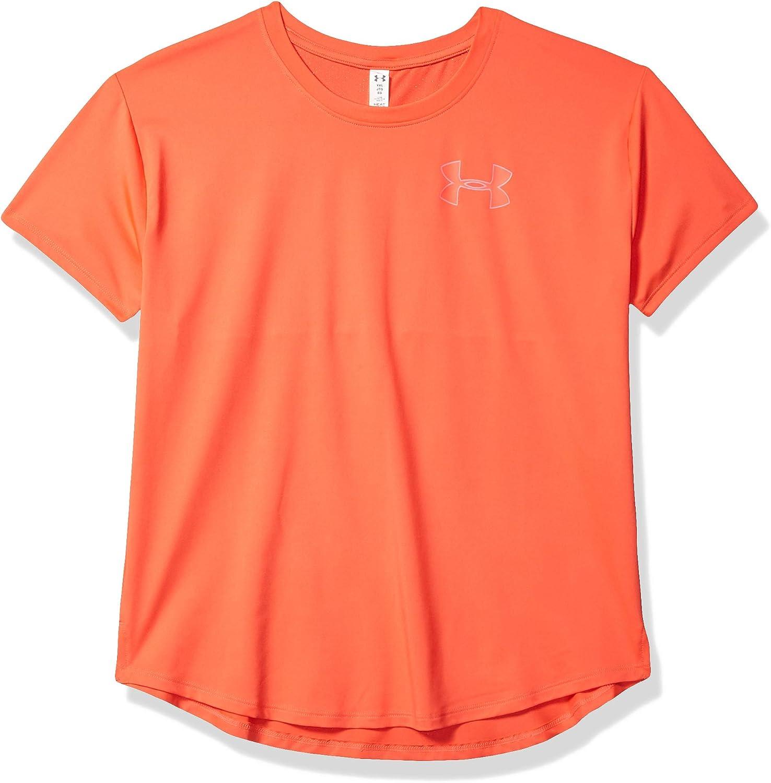 Under Armour Girls HeatGear Armour Short Sleeve T-Shirt