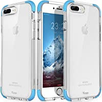 Yesgo Crystal Shock-Absorption Anti-Scratch Ultra Slim Case for Apple iPhone 7 Plus & 8 Plus