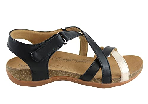 036ca5ab8e4 Scholl Orthaheel Alanna Womens Supportive Orthotic Comfort Sandals - Size   9 AUS or 40 EUR