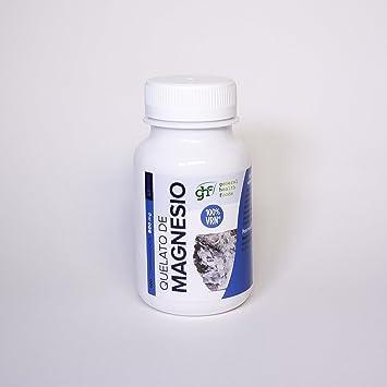 GHF - GHF Quelato de Magnesio 100 comprimidos de 800mg: Amazon.es: Salud y cuidado personal