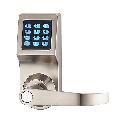 haifuan cerradura de puerta Digital, Con Mando a distancia, M1 tarjeta de desbloqueo,