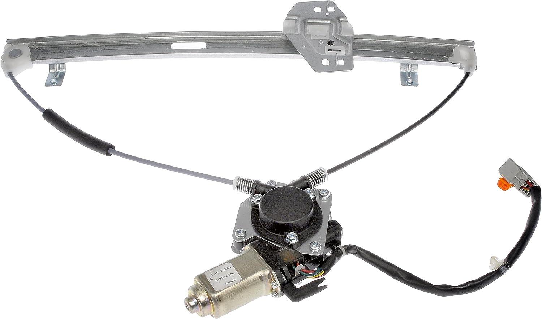 Dorman 748-131 Front Driver Side Power Window Motor and Regulator Assembly for Select Honda Models
