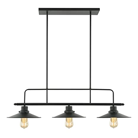 3 light kitchen island pendant modern light society margaux 3light kitchen island pendant matte black vintage modern industrial black