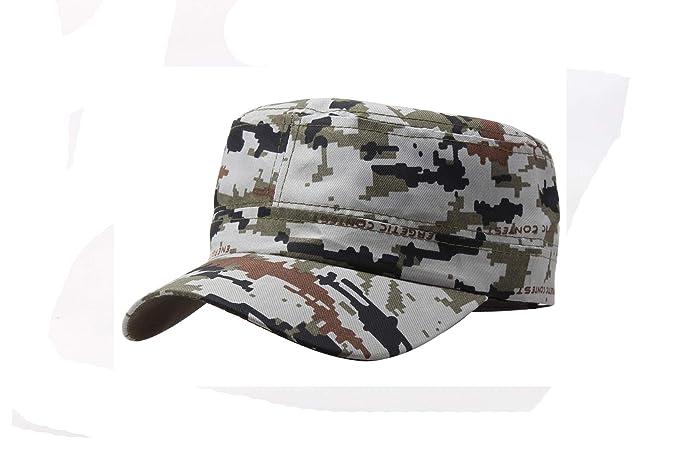 Marine Corps Hat Camouflage Flat Top Cap Men Patriot Baseball Cap US