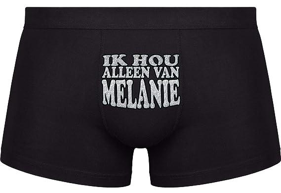 Koele Geschenk Ik Hou Alleen Van Melanie Verjaardag Bexyshorts